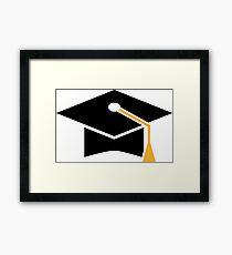 Doctoral Cap Framed Print