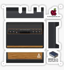 Atari 2600 Skin for Flirc case [Get the MEDIUM size] Sticker