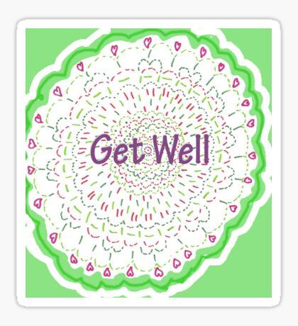 Wishing Well Mandala Sticker