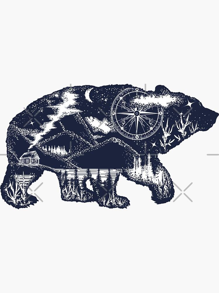 Bear double exposure by intueri