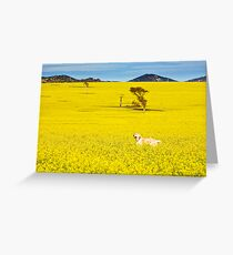 One happy dog Greeting Card