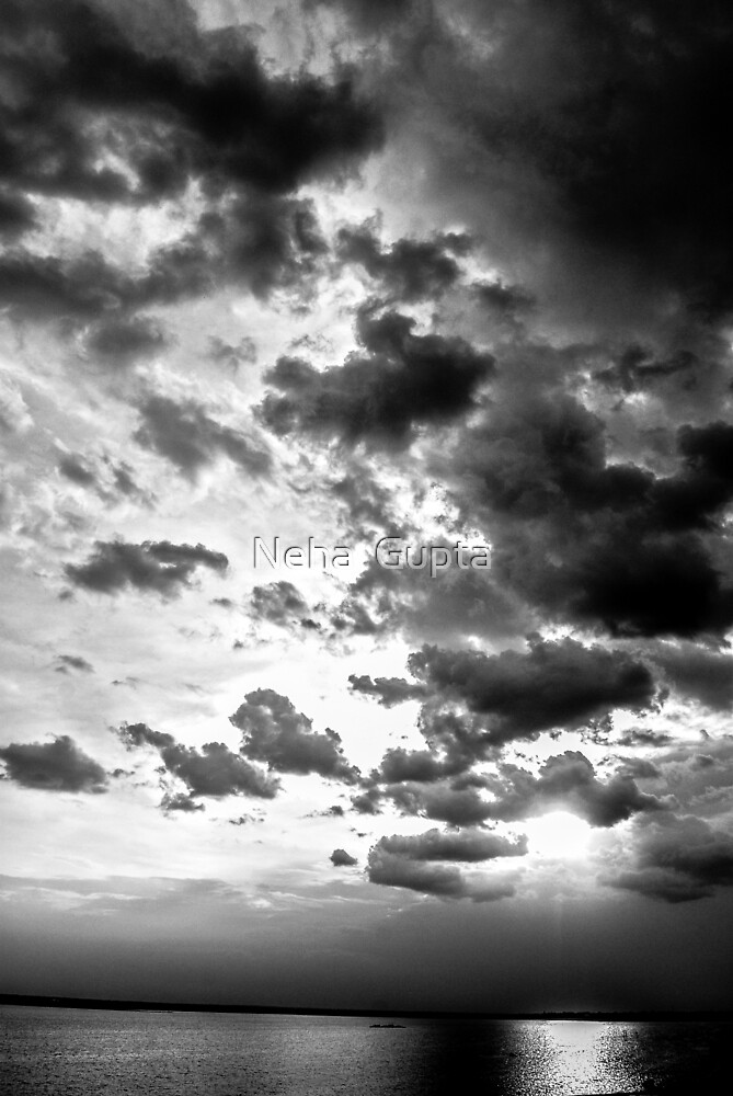 Colorless Sunset by Neha  Gupta