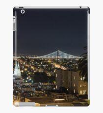 San Francisco at night iPad Case/Skin