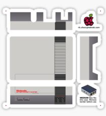 Nintendo Entertainment System Skin for Flirc case [Get the MEDIUM size] Sticker