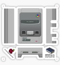 Nintendo SNES (Europe & UK) Skin for Flirc case [Get the MEDIUM size] Sticker