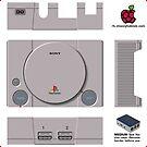 Sony Playstation Skin for Flirc case [Get the MEDIUM size] by ChoccyHobNob