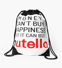 Nutella Quote Drawstring Bag