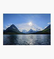 Swiftcurrent Lake, Glacier National Park Photographic Print