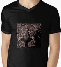 Zayin Art: Fish pair Men's V-Neck T-Shirt