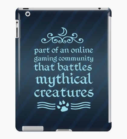 Mythical Creatures II iPad Case/Skin