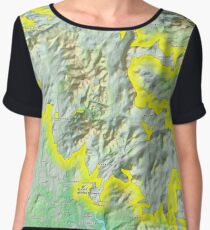 Galloway Forest National Park Chiffon Top