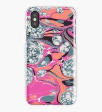 Psychedelic Marble Bubble Space Pepe Psyche iPhone Case
