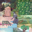 « au bord de l'eau » par Olga Lupi