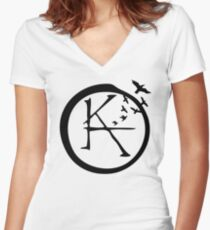Ka Tet Symbol Women's Fitted V-Neck T-Shirt
