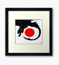 Japan toothless Framed Print