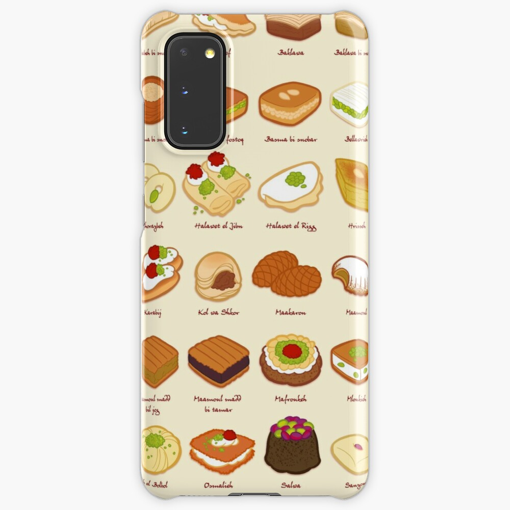 Baklawa & Halawa Case & Skin for Samsung Galaxy