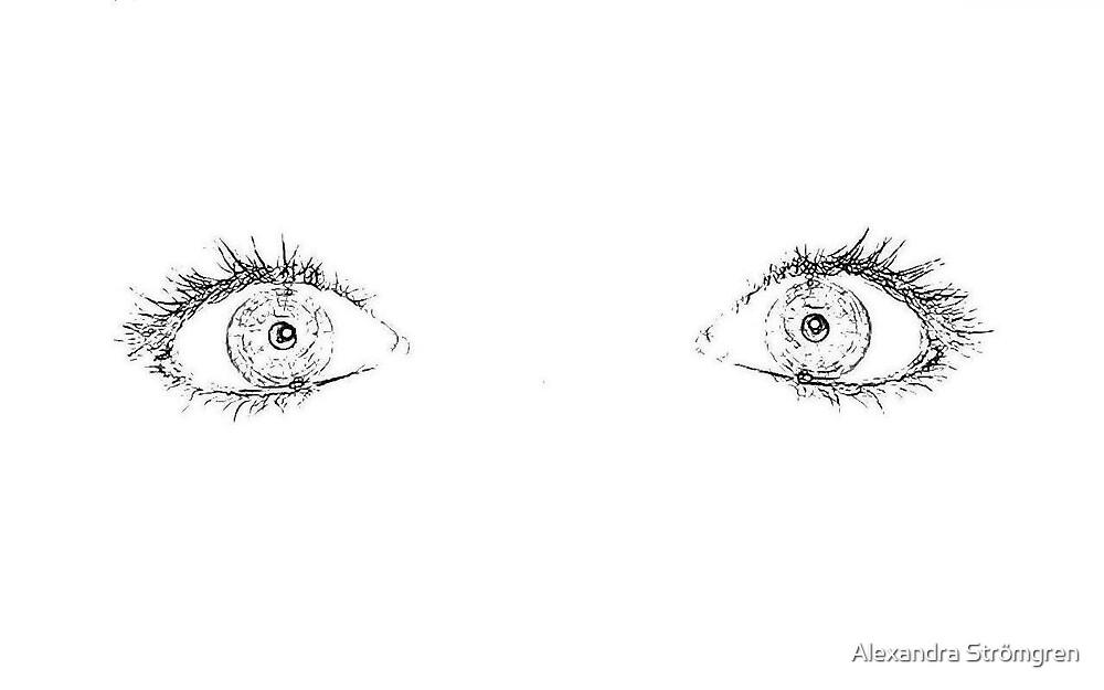 Eyes wide open by Alexandra Strömgren