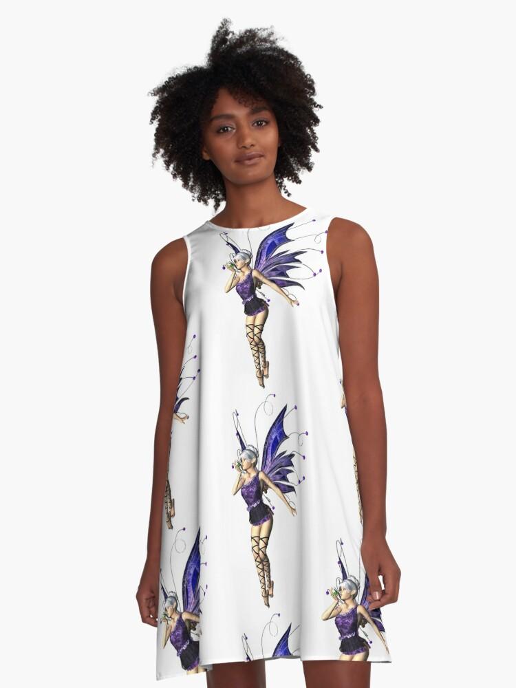 Eleven A-Line Dress Front
