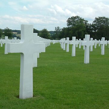 Belgium WWII Grave Yard1 by mrbecker