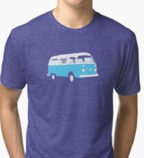 Bay Window Campervan Basic Colours (please see notes) Tri-blend T-Shirt