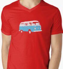 Bay Window Campervan Basic Colours (see description) Mens V-Neck T-Shirt