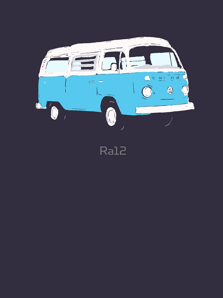Bay Window Campervan Basic Colours (please see notes) | Unisex T-Shirt
