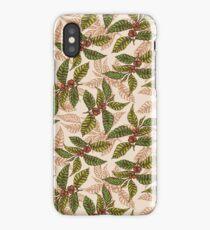 Coffee pattern iPhone Case/Skin