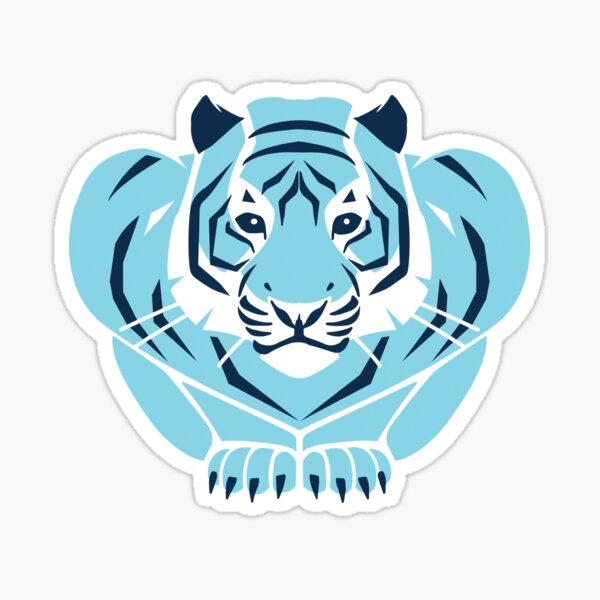 Shaw Blue Tiger Sticker