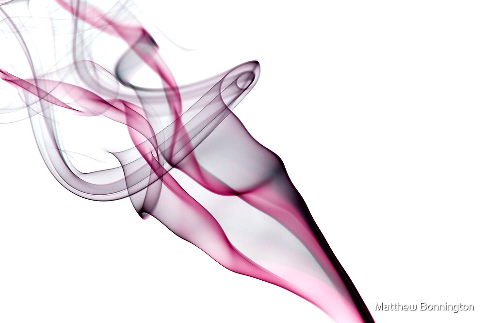 White smoke 6 by Matthew Bonnington
