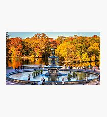 The Bethesda Fountain Photographic Print