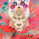 Indian Tiger Mandala Fakir Pepe Psyche by Pepe Psyche