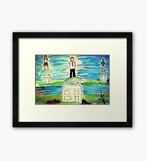 Where Rain Comes From Framed Print