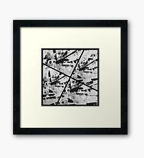 DAMAGED Framed Print