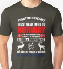 Norway Norway Love Unisex T-Shirt