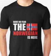 Norway The Norwegian Is Here Unisex T-Shirt