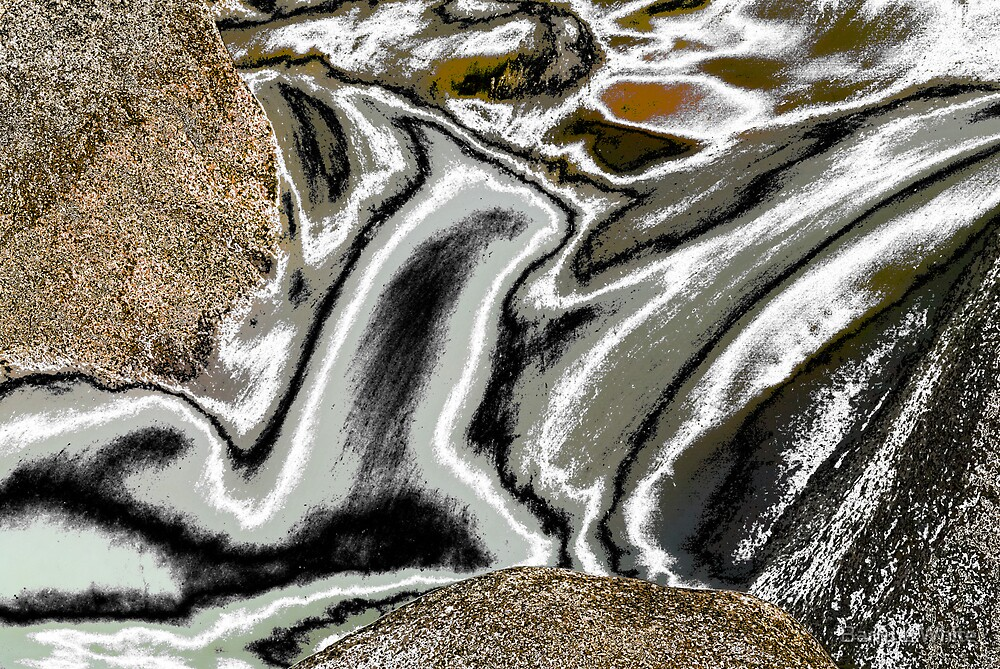 Abstract Flow #1 by Barry L White