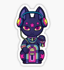 Wrong Neko: Music Sticker