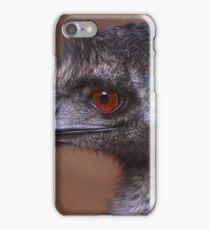 Emu in close-up iPhone Case/Skin