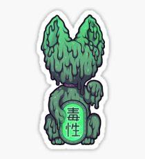 Wrong Neko: Sludge Sticker