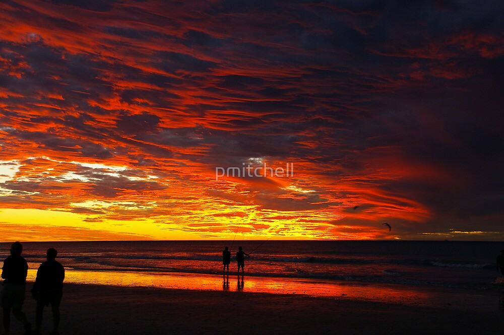 80 Mile Beach at sunset by pmitchell
