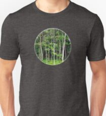 Tranquil Forest Glimpse Unisex T-Shirt