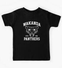 Wakanda Panthers Kids Tee