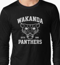 Wakanda Panthers Long Sleeve T-Shirt