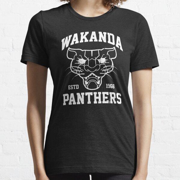 Wakanda Panthers Essential T-Shirt