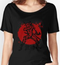 God of military arts Women's Relaxed Fit T-Shirt