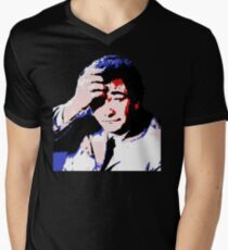 Lft Columbo - Pop Art Men's V-Neck T-Shirt