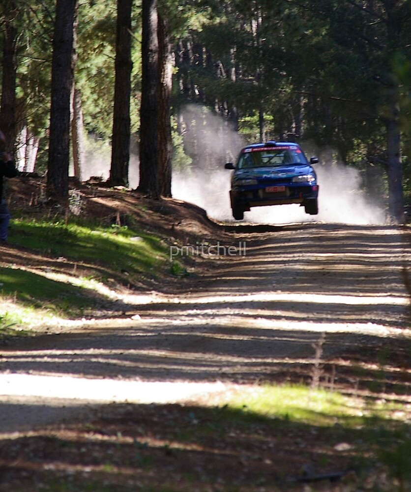 flying rally car by pmitchell