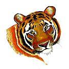 """Siberian Tiger"" by Winterberry  Farm Studio"