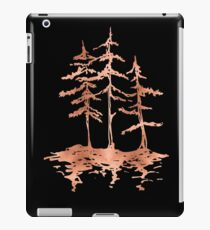 THE THREE SISTERS -  Rose Gold Pink Vintage Forest Adventure Art iPad Case/Skin