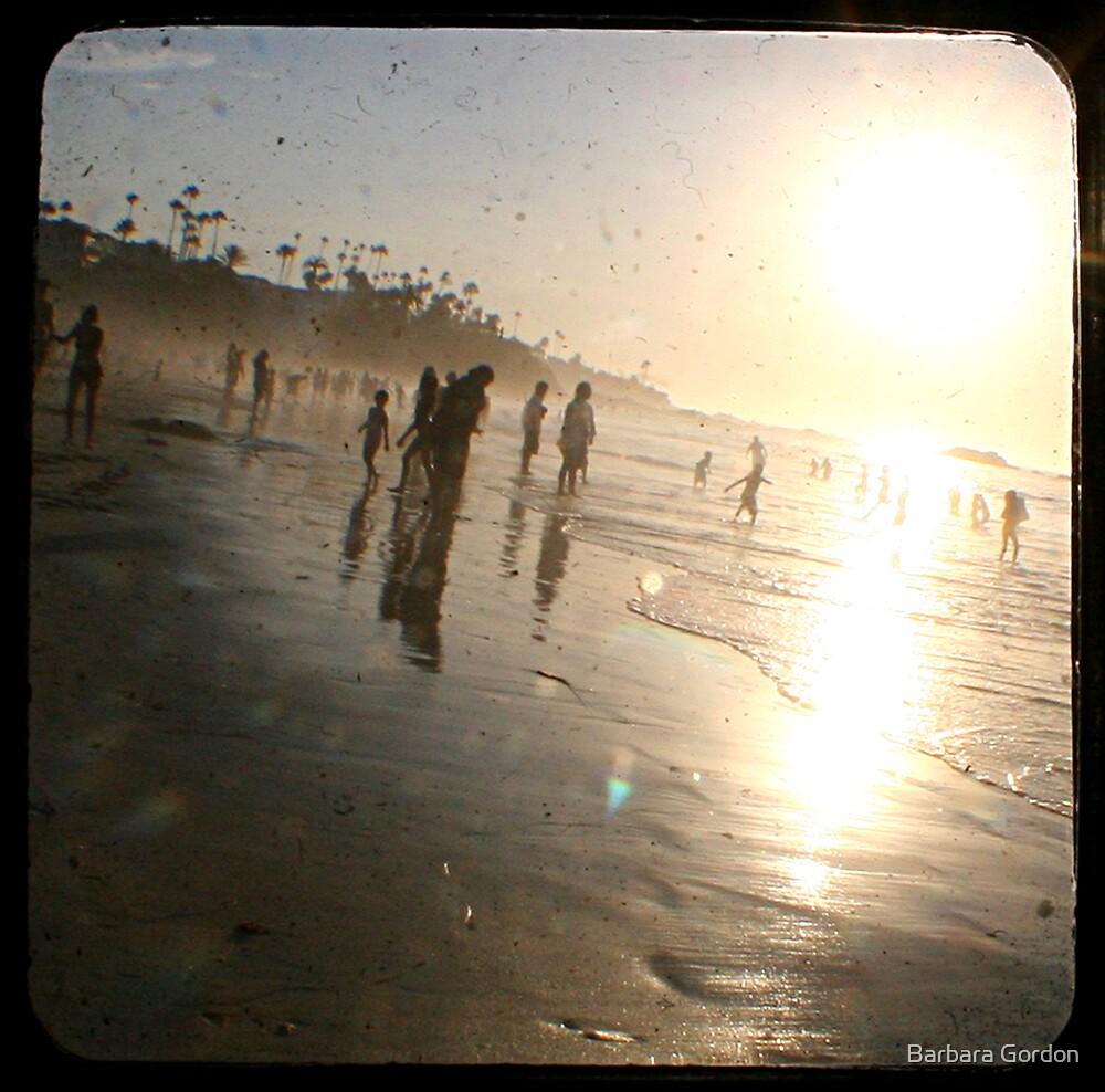 Beach Fun 1 by Barbara Gordon